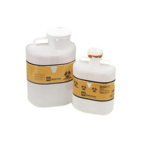 Buy Medical Action Biohazard Non Stackable Sharps Container with Screw Cap