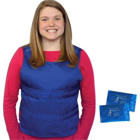Buy Polar Kool Max Body Cooling Poncho Vest with Cooling Packs