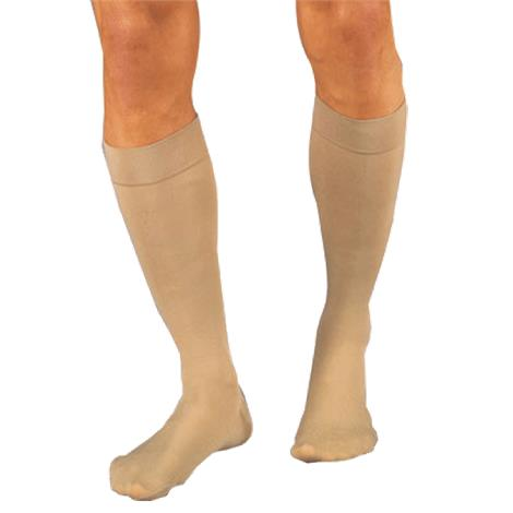 BSN Jobst Relief Large Full Calf Closed Toe Knee High 30-40mmhg Extra Firm Compression Stockings
