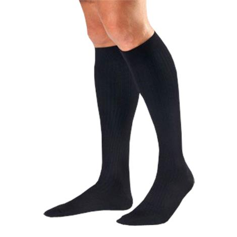 BSN Jobst Men Dress Supportwear X-Large Closed Toe Knee High 8-15 mmHg Compression Socks