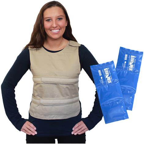 Buy Polar Kool Max Adjustable Poncho Cooling Vest with Long Kool Max Pack Strips