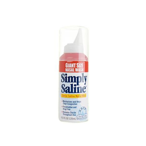Church & Dwight Simply Saline Sterile Nasal Mist