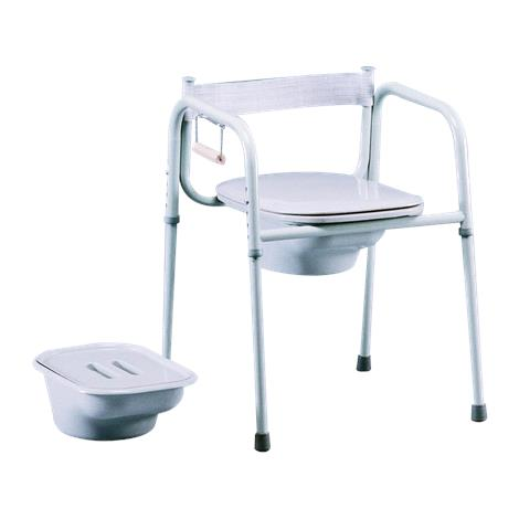 Tubular fabricators three in one universal steel commode commode chairs - Commode industrielle metal ...