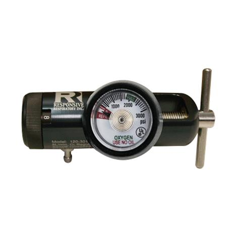Responsive Respiratory E Series Value Oxygen Regulator - 8 LPM