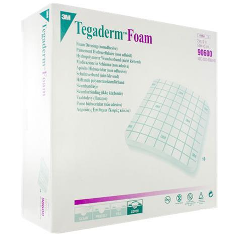 3M Tegaderm High Performance Foam Non-Adhesive Dressing