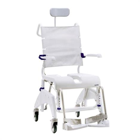 Clarke Aquatec Ocean Dual Tilt-In-Space Shower Commode Chair with Reclining Back