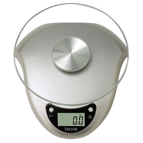 Taylor Silver Digital Kitchen Scale