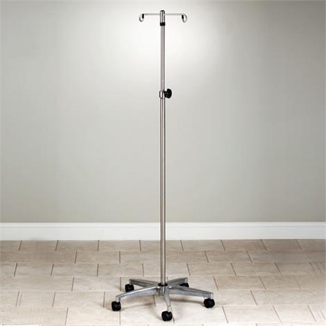 Graham-Field Five-Leg Deluxe Chrome Plated Steel I.V. Stand