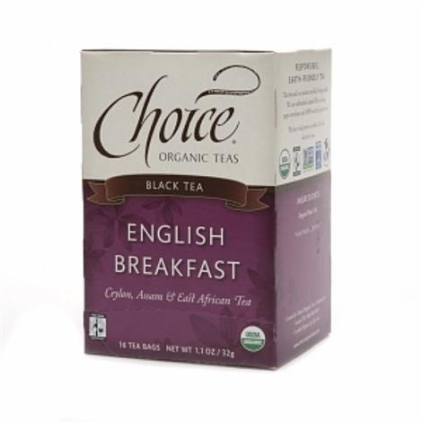 Choice Organic English Breakfast Tea