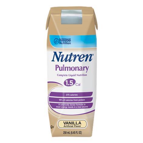 Nestle Nutren Pulmonary Complete Nutrition Formula