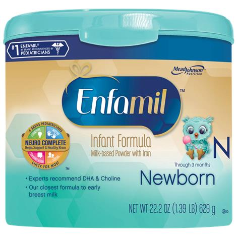 Mead Johnson Enfamil Newborn Milk Based Powder Formula