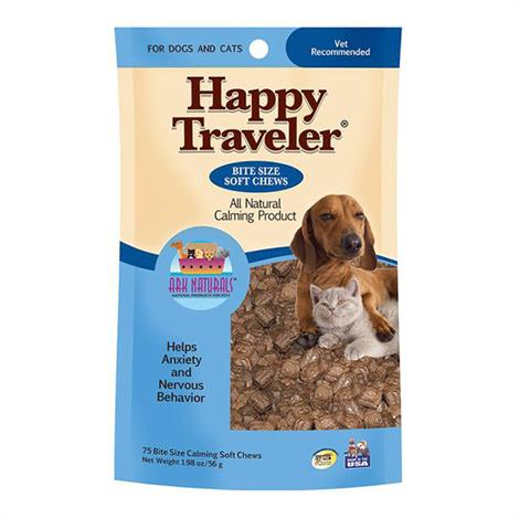 Ark Naturals Happy Traveler Soft Chews Pets Calming Formula