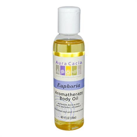 Aura Cacia Aromatherapy Body Oil Euphoria