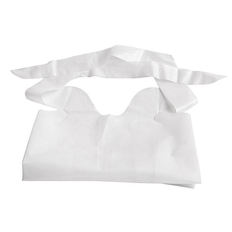 Medline Waterproof Plastic Bib