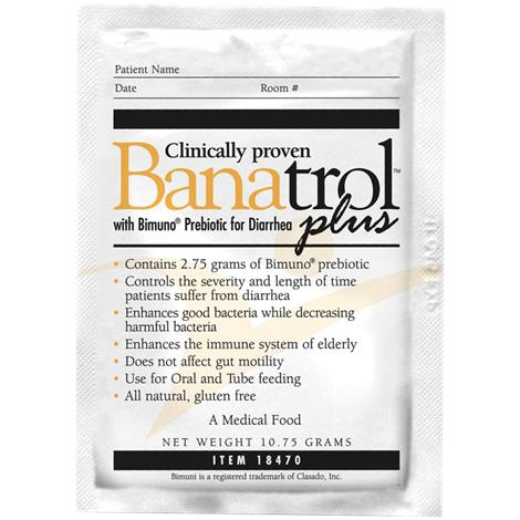 Medtrition Banatrol Plus Supplement Powder With Bimuno Probiotic