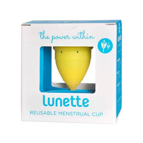 Lunette Lucia Yellow Menstrual Cup