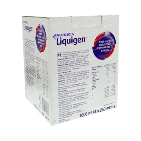 Nutricia Liquigen Unflavored Medical Food