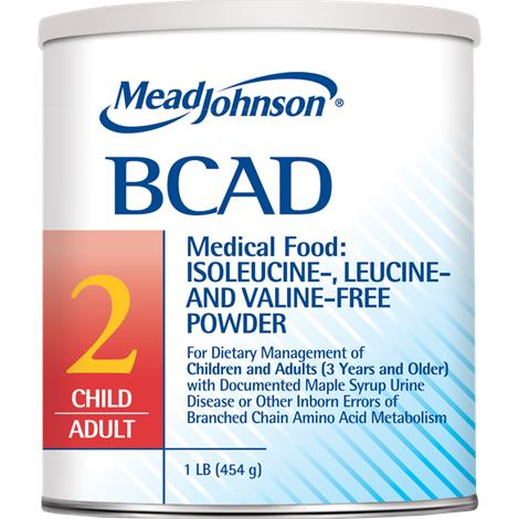 Mead Johnson BCAD 2 Iron Fortified Medical Food Powder