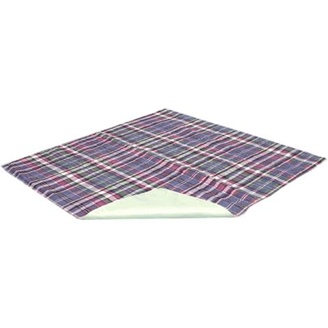 Essential Medical Quik-Sorb Plaid Quilted Polyester Underpad