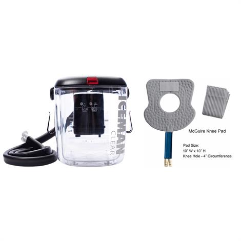 Buy DonJoy IceMan CLEAR3 Cold Therapy Unit With Knee Pad