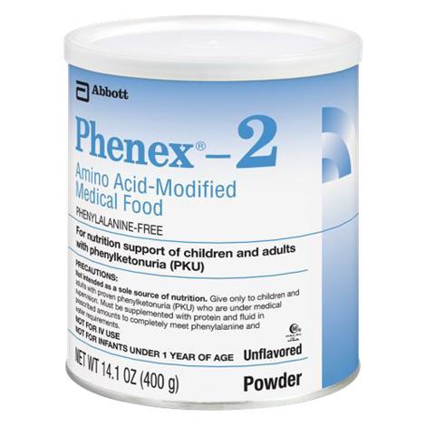 Abbott Phenex 2 Amino Acid Modified Powdered Medical Food