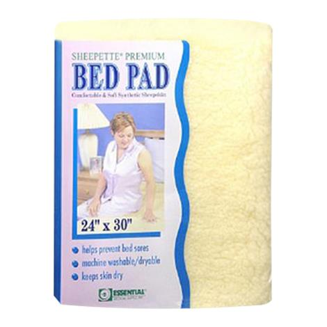 Essential Medical Sheepette Synthetic Lambskin Bed Pad