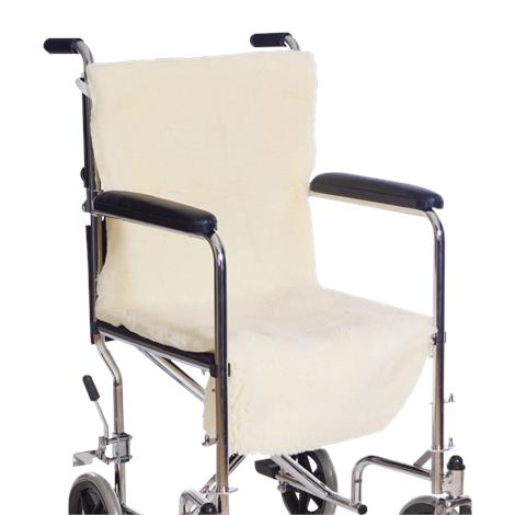 Essential Medical Sheepette Wheelchair Seat & Back Pad