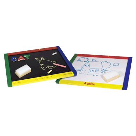 Melissa & Doug Magnetic Chalkboard Or Dry-Erase Board