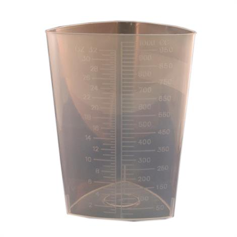 McKesson Triangular Graduated Container Without Lid