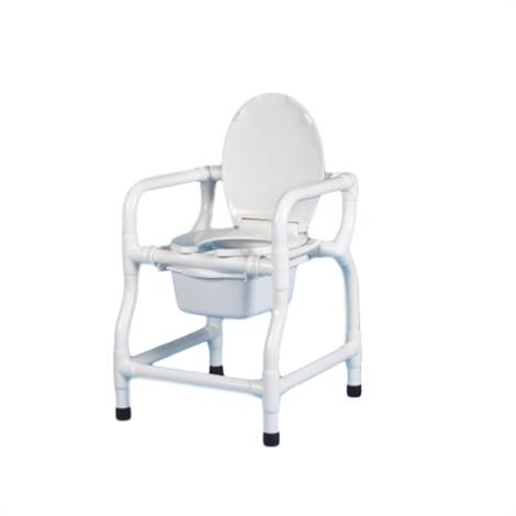 Duralife Bedside Commode With Lid