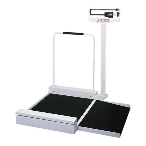 Detecto 495 Mechanical Stationary Wheelchair Scale