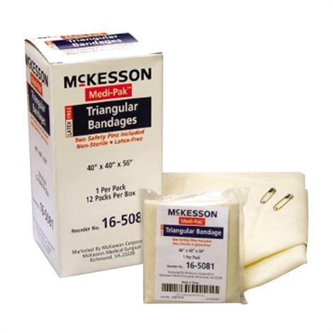 McKesson Medi-Pak Muslin Non-Sterile Triangular Bandage