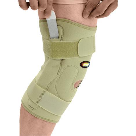 Buy MAXAR Airprene Pull-On Knee Brace with Double-Pivot Hinge