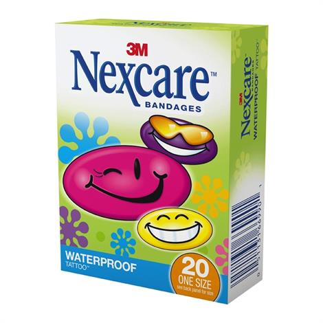 Buy 3M Nexcare Tattoo Waterproof Bandage