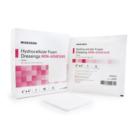McKesson Non-Adhesive Hydrocellular Foam Dressing Without Border