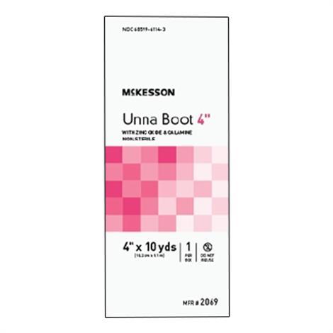 McKesson Non-Sterile Cotton Unna Boot With Calamine