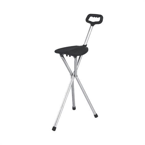 Essential Medical Three Leg Folding Seat Cane