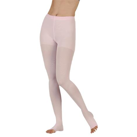 Juzo Dynamic Varin Regular Open Toe 40-50mmHg Compression Pantyhose