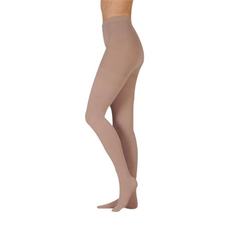 Juzo Dynamic Varin Closed Toe 40-50mmHg Compression Pantyhose With Open Crotch
