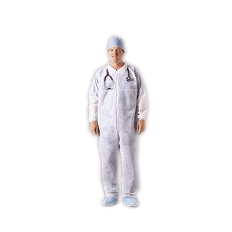 McKesson Medi-Pak Performance Fluid-Resistant Disposable Coverall