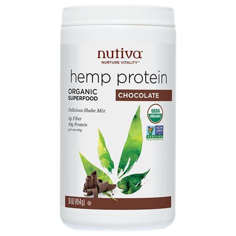 Nutiva Organic Hemp Chocolate Protein Shake