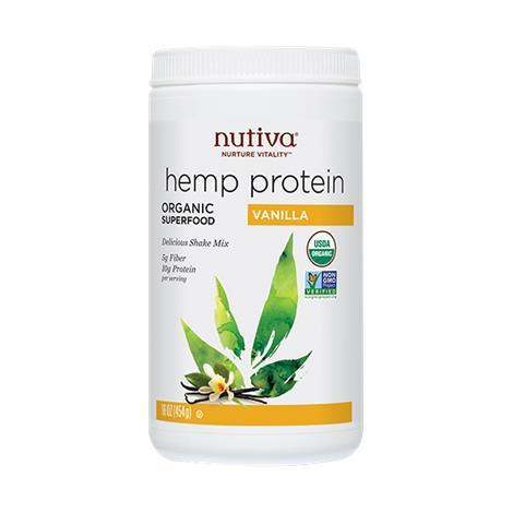 Nutiva Organic Hemp Vanilla Protein Shake