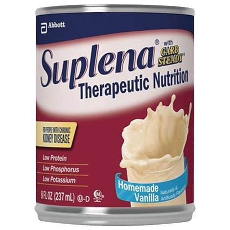 Abbott Suplena With Carb Steady Therapeutic Nutrition For Kidney Disease