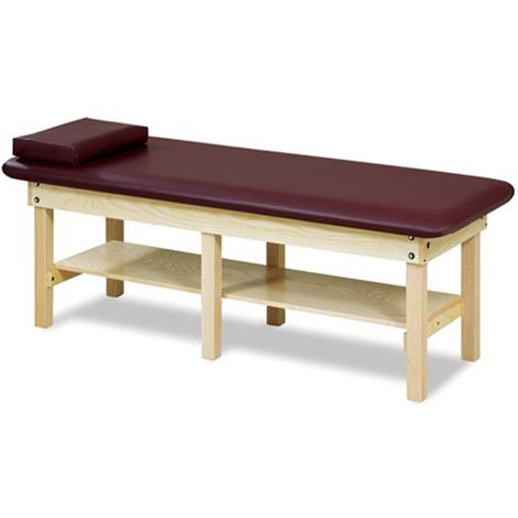 Clinton 6196 Bariatric Low Height H-Brace Treatment Table
