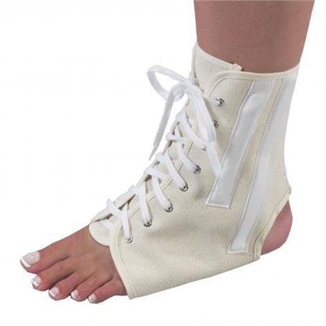 Bilt-Rite Canvas Ankle Brace With Lace