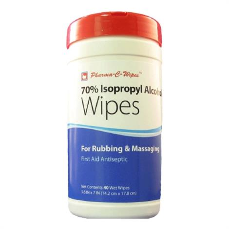 Pharma-C-Wipes 70 Percent Isopropyl Alcohol First Aid Wipe