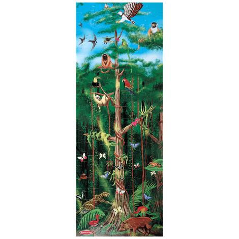 Melissa & Doug Rainforest Floor Puzzle
