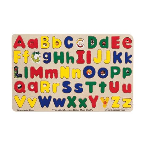 Melissa & Doug Upper And Lower Case Alphabet Puzzle