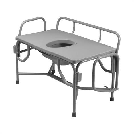 Tubular Fabricators The Grand Line Extra Extra Wide Heavy Duty Drop Arm Bariatric Commode