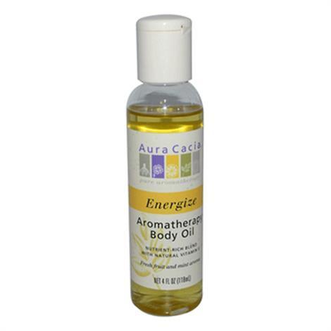 Aura Cacia Aromatherapy Body Oil Energize